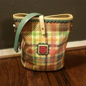 Dooney and Bourke Spring Colored Leather Purse